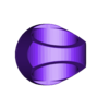 GREEN_-_lantern_ring.STL Télécharger fichier STL gratuit Anneaux de corps de lanterne • Modèle imprimable en 3D, Clenarone