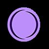 obtu_rond_dessus.stl Télécharger fichier STL gratuit CAISSON DAGOMA - add-on obturateur/guide filament • Modèle à imprimer en 3D, badmax133