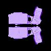 X2_Taser_in_Halves.stl Télécharger fichier STL gratuit Taser X2 • Plan pour imprimante 3D, mrhers2