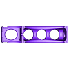 base_chargement_18650.stl Télécharger fichier STL gratuit chargeur de piles Li-Ion 18650 remixé • Design pour impression 3D, cavern
