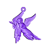 Baby angel pendant  jewelry.stl Download free OBJ file Baby angel pendant  jewelry • 3D print design, Cadagency