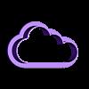Nube 20x35mm.stl Download STL file Cloud cutter set • 3D printing model, juanchininaiara