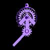 matrix-handle.stl Download free STL file RGB Matrix Slot Machine • 3D print object, Adafruit