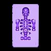 joker.stl Télécharger fichier STL gratuit Joker Carte à jouer • Modèle imprimable en 3D, cloudyconnex