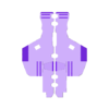 LegT1_Right_06_Foot_Black.stl Download STL file Heavy Gun Walker • 3D print design, Jwoong