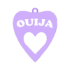 ouija letras (2).stl Download STL file Spooky/Halloween earrings pack 2 • Object to 3D print, merjofre