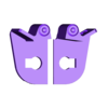 57_Drag_Leg7_KneeLock_GREY.stl Download STL file ARTICULATED DRAGONLORD (not Dragonzord) - NO SUPPORT • 3D printer model, Toymakr3D