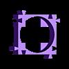 improved.stl Télécharger fichier STL gratuit 18650 : espaceur/support amélioré • Objet imprimable en 3D, eried