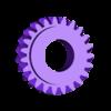 CalendarIdlerOut23T.stl Télécharger fichier SCAD gratuit Planétarium mécanique • Plan pour impression 3D, Zippityboomba