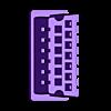 SIO_Connector_for_PLA_-_Plug.stl Download free STL file SIO Plug for 400/800/XL/XE Atari 8-Bit Computers, PLA Sized • 3D printer template, MrRobot6502
