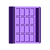bottom.stl Download free STL file LiPo 1s storage box • 3D printable object, corristo25