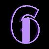 6.STL Télécharger fichier STL gratuit Lot de 10 moules à biscuits numérotés • Design à imprimer en 3D, icepro10