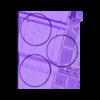 Mercury left 60mm.stl Download STL file 40K INDUSTRIAL BASES (Full Set!)  TABLEWAR MAGNETIC TRAY INSERT WITH BASES • 3D printer design, Z-Axis_Hobbies