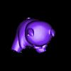 Piggy.stl Download free STL file Piggy • 3D printing template, c47