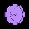 8_serious_injury.stl Download free STL file Necromunda Status Markers • Design to 3D print, jw7007