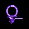 Fan_de_capa_con_turbina.stl Télécharger fichier STL gratuit Mise à jour pour MK8 avec clone e3D - Version 2 • Plan pour impression 3D, estebanmeurat