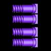 59_Drag_Leg9_KneeScrew_GREY.stl Download STL file ARTICULATED DRAGONLORD (not Dragonzord) - NO SUPPORT • 3D printer model, Toymakr3D