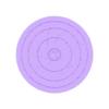 100mm-diameter-0.3mm-clearance-coaster.stl Download free STL file Coaster with a twist • Design to 3D print, the-lazy-engineer