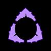 FlexiPick Center'Curve'PiramiralTriangle-Dent 1'50 09.stl Download free STL file FlexiPick Center'Curve'PiramiralTriangle-Dent 1'50mm for electric guitar • Object to 3D print, carleslluisar