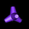 tetrapod tank trap.STL Download free STL file  Concrete obstacles • 3D printable model, Steyrc