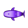 Baby_Whale.stl Download free STL file Blue Whale Mama & Baby • 3D printing object, 3DPrintProjectAthens