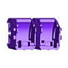 52_Drag_Leg3_Thigh_BLACK.stl Download STL file ARTICULATED DRAGONLORD (not Dragonzord) - NO SUPPORT • 3D printer model, Toymakr3D