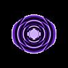 rose_4_130420c.stl Télécharger fichier STL gratuit vase avec des roses • Design imprimable en 3D, Hazon_Maker