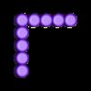 Nine_9.stl Download free STL file Odd Numbers and Square Numbers • 3D printable model, LGBU