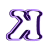K.stl Download STL file sharp letters Cooper Black • 3D printing model, juanchininaiara