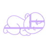 BH2.stl Download STL file BABY COOKIE CUTTER • 3D printable model, SinTiempoLibre