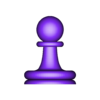 01 peon.STL Download STL file Classical chess • 3D printing object, LuisCrown