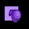B0_SB_Head.stl Download free STL file VENOM SNAKE BUST • 3D printer model, Soludus