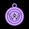 WonderwomanLogo1.stl Télécharger fichier STL gratuit Porte-clés à cardan - Héros & Logos • Modèle pour impression 3D, ykratter