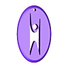 humanist_ornament_merged.stl Download free STL file Happy Humanist Ornament • 3D print object, Revalia6D