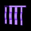 Part_4.stl Download free STL file XXL Combination Spanner Set 26pcs metric 6-32 mm Wall Holder 016 I for screws or peg board • 3D printable model, Wiesemann1893