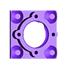 BH1_6a.stl Télécharger fichier STL gratuit Remix du support de roulement IQBX • Modèle à imprimer en 3D, SiberK