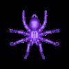 hanging_tarantula_light.stl Télécharger fichier OBJ gratuit Araignée suspendue • Objet à imprimer en 3D, Pza4Rza