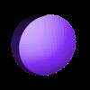 1UP_modular_dot_4.stl Download free STL file Super Mario Mushroom 1UP Hanger (Dual & Modular Single Extrusion) • 3D printable design, Runstone