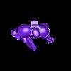 doomguypose_fixed.stl Télécharger fichier STL gratuit Un marine en armure de type Mars-pattern • Design à imprimer en 3D, Tobunar