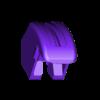 1_Drag_Head1_Helmet_BLACK.stl Download STL file ARTICULATED DRAGONLORD (not Dragonzord) - NO SUPPORT • 3D printer model, Toymakr3D