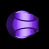 BLUE_LIGHT_-_lantern_ring.STL Télécharger fichier STL gratuit Anneaux de corps de lanterne • Modèle imprimable en 3D, Clenarone