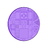 Round_130mm_base_INDR_01.stl Download free STL file Sci-fi industrial bases all sizes all shapes • 3D printing template, Alario