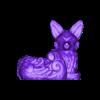 NIGHT FOX PLANTER.obj Télécharger fichier OBJ Jardinière de renard des forêts nocturnes - STL pour l'impression 3D • Plan pour imprimante 3D, FabioDiazCastro