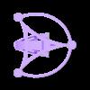 Stingray_Drone_Elegante_-_v1.3.stl Download free STL file Stingray Amphibious Tri-Copter Drone Model • 3D printable design, AlbertKhan3D