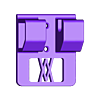 046_screws.stl Download free STL file Small Ratchet (1/4 Inch) Holder 046 I for screws or peg board • 3D printer template, Wiesemann1893