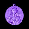 Mother Mary with Jesus Christ Saint pendant christian jewelry.obj Télécharger fichier OBJ gratuit Mère Marie avec Jésus Christ Saint pendentif bijoux chrétiens modèle d'impression 3D • Plan imprimable en 3D, Cadagency