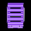 18650_5P_lid_V2_Vented.stl Télécharger fichier STL gratuit NESE, le module V2 sans soudure 18650 (VENTED) • Objet pour imprimante 3D, 18650
