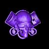 skull_pilot22.stl Télécharger fichier STL gratuit MotoSkull2 • Objet pour impression 3D, shuranikishin