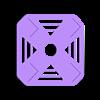 diy_mini_quad_top_plate.stl Télécharger fichier STL gratuit Mini Quadcoptère de bricolage avec support moteur imprimé 3D, plaques supérieure et inférieure • Objet à imprimer en 3D, Balkhgar