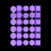 Mini_Bases_texture_all.stl Télécharger fichier STL gratuit Bases Collection _Textures • Objet pour imprimante 3D, 3D-mon